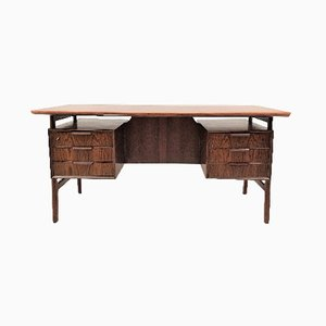 Danish Rosewood Model 75 Desk from Omann Jun, 1960s