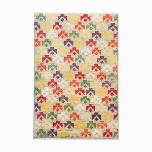 Handgefertigter Vintage Baluchi Teppich aus Wolle, 1986