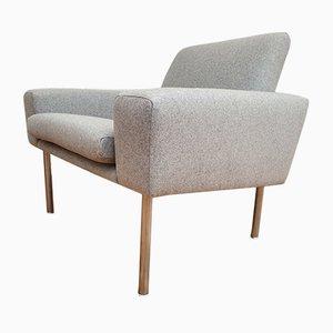 Moderne skandinavische Airport Armlehnstühle von Hans J. Wegner für AP Stolen, 1950er, 2er Set