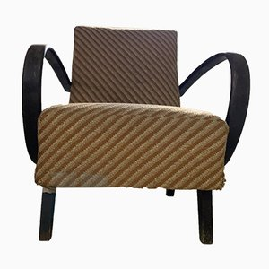 Art Deco Lounge Chair by Jindrich Halabala, 1930s