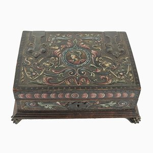 Antique Renaissance Jewelry Box