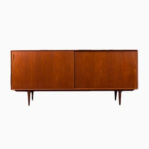 Danish Teak and Veneer Sideboard by Henry Rosengren Hansen for Brande Møbelindustri, 1960s