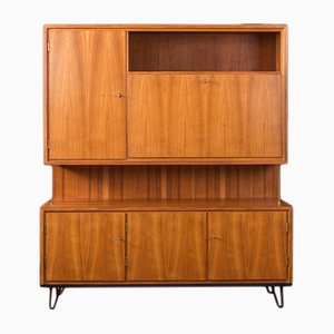 German Walnut Cabinet from WK Möbel, 1950s