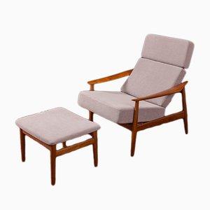 Dänischer Sessel aus Teak von Arne Vodder für France & Søn, 1960er
