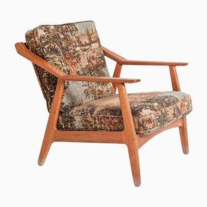 Dänischer Sessel aus Teak von Brockmann-Petersen, 1950er