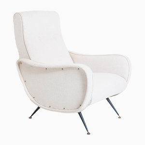 Mid-Century Sessel aus Messing, 1950er