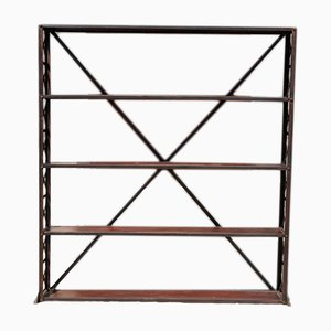 Antique Eiffel Industrial Shelving Unit