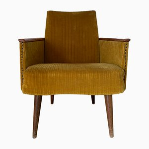 Mid-Century Art Deco Timber Framed Chair