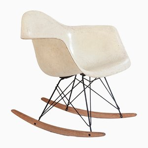 Fiberglass Rocking Chair from Herman Miller, 1950s