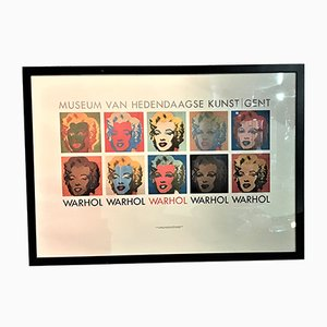 Dutch Andy Warhol Exhibition Poster from Art Unlimited, 1964
