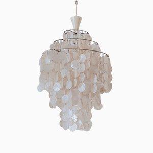 Lámpara de techo de Verner Panton para J. Lüber AG, 1964