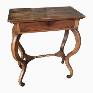 French Louis Philippe Walnut Console