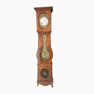 Antike französische Uhr aus Tannenholz