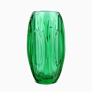 Mid-Century 914 Vase by Rudolf Schrötter for Sklo Union