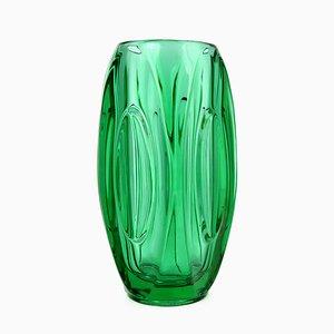 Mid-Century 914 Vase von Rudolf Schrötter für Sklo Union