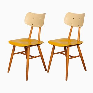 Mid-Century Dining Chairs from TON, 1960s, Set of 2