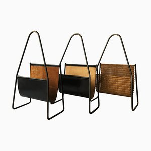 Magazine Stands by Carl Auböck, 1950s, Set of 3
