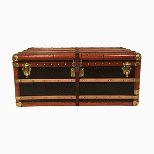 Vintage French Steamer Trunk from Goyard, 1920s