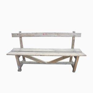 Antike Holzbank