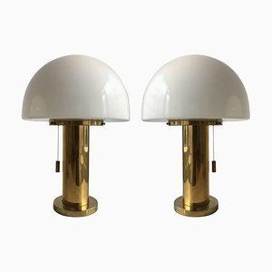 Mushroom Table Lamps from Limburg, 1970s, Set of 2