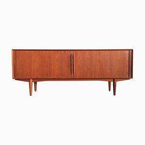 Large Teak Credenza Sideboard by Alf Aarseth for Gustav Bahus, 1960s