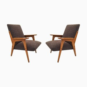 Architect Lounge Chairs by Franz Schuster, 1950s, Set of 2