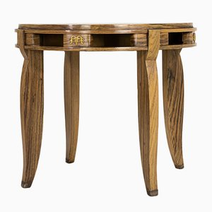 Vintage French Wooden Side Table, 1930s