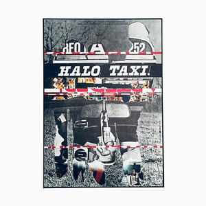 Halo TaxiMovie Poster by Milan Grygar, 1984