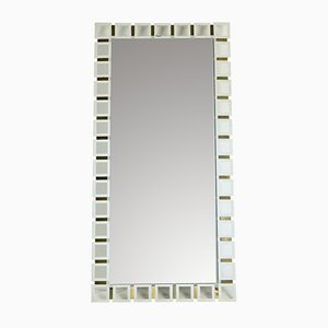 Rectangular Vintage Illuminated Mirror, 1970s
