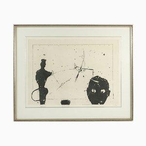 Vintage Shared Consciousness Lithografie von Ferrer, 1992