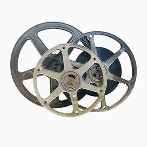 Vintage Film Reels Set, 1960s