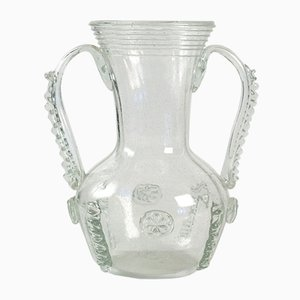 Antique French Glass Vase