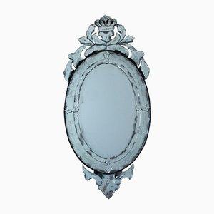 Ovaler venezianischer antiker Spiegel