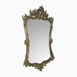 Antiker goldener Louis XV Spiegel