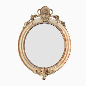 Antique Napoleon Oval Mirror