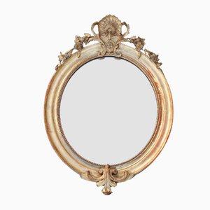 Ovaler antiker Napoleon Spiegel