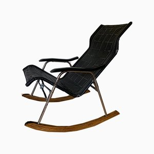 Mid-Century Danish Rocking Chair by Takeshi Nii