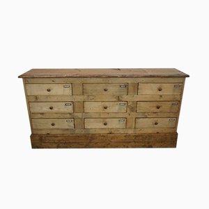 Antiker Schubladenschrank aus Holz