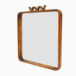 Mid-Century Italian Modern Mirror, 1950s