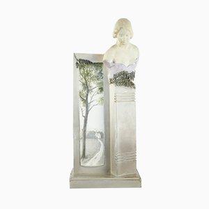 Antique Art Nouveau Ceramic Vase
