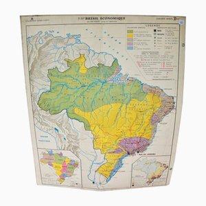 Brasil School Map, 1960s