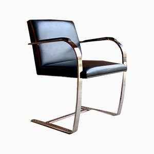Sedie da pranzo vintage di Ludwig Mies van der Rohe per Knoll Inc. / Knoll International, set di 6