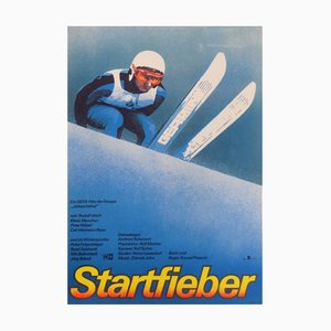 East German Startfieber Movie Poster, 1986
