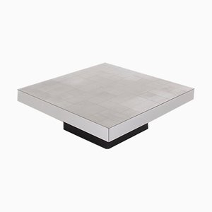 Vintage Steel and Formica Coffee Table, 1970s