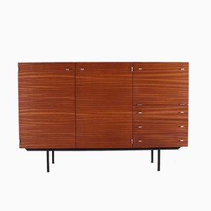 Steel and Teak Sideboard by Pierre Guariche for Meurop, 1960s