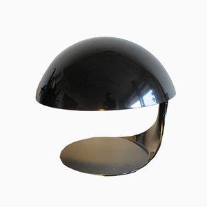 Italienische Cobra Tischlampe aus Aluminium von Elio Martinelli für Martinelli Luce, 1960er