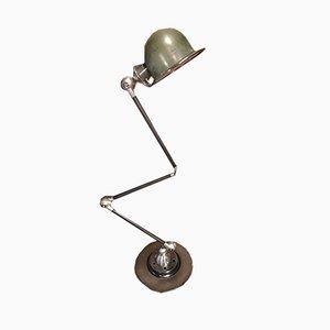 Französische verstellbare industrielle Tischlampe von Jean-Louis Domecq für Jieldé, 1950er