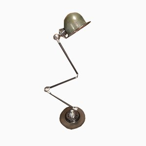 Industrial French Articulated Table Lamp by Jean-Louis Domecq for Jieldé, 1950s