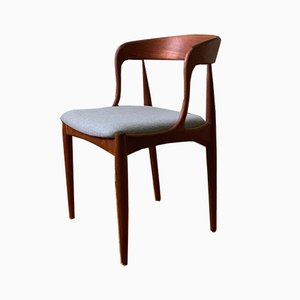 Danish Teak Dining Chair by Johannes Andersen for Uldum Møbelfabrik, 1960s