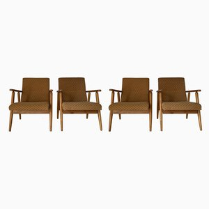 Armchairs, 1960s, Set of 4